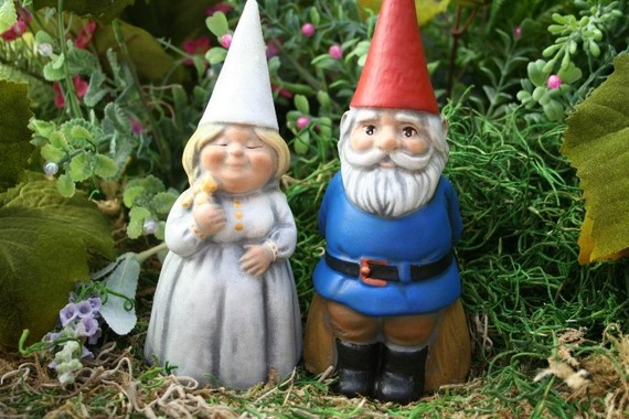 Etsy Gnome Cake Topper