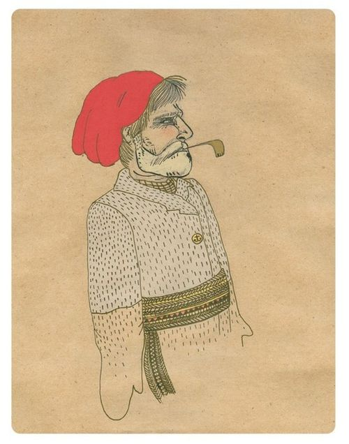 Sea Captain Print, Rachael Speirs