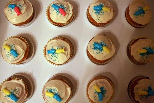 Love Fish Cupcakes