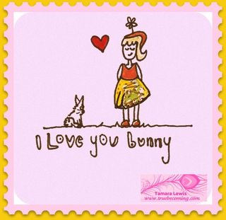 I Love You Bunny 2