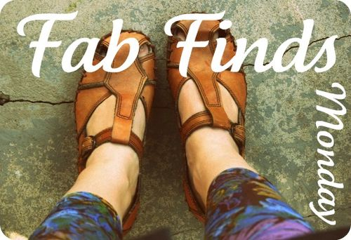 Fab Finds Monday Banner