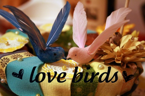 DIY Love Bird Cake Toppers 14