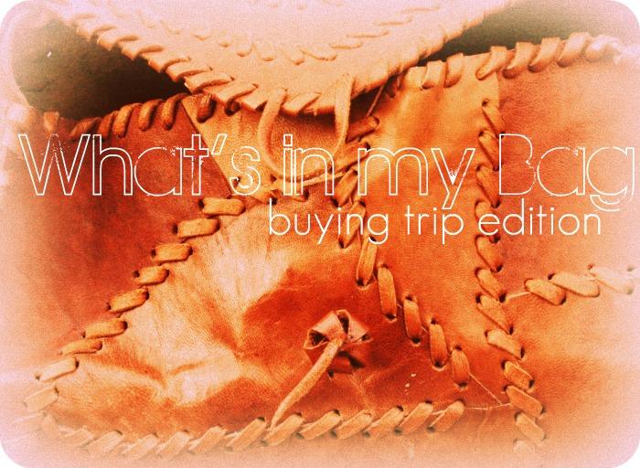 Buying Trip 1