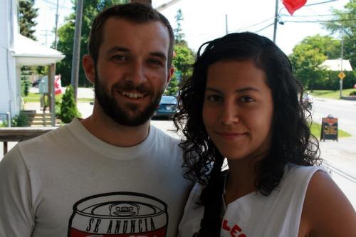 Chris and Sarah