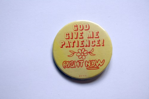 Patience Pin