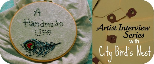 Handmade Life Banner - City Bird's Nest