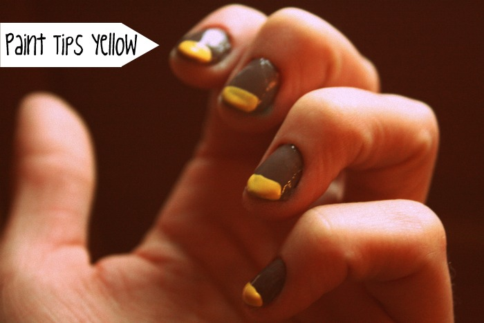 Yellow tips