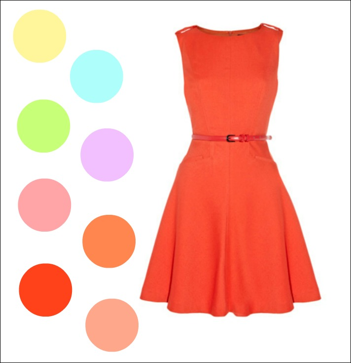 Spring 2012 Tangerine and Pastels
