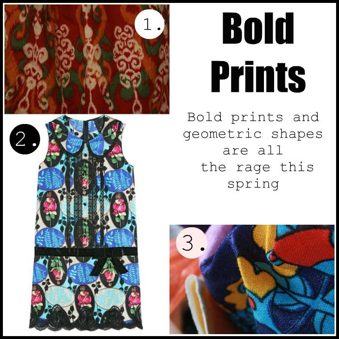 Spring 2012 Bold Prints