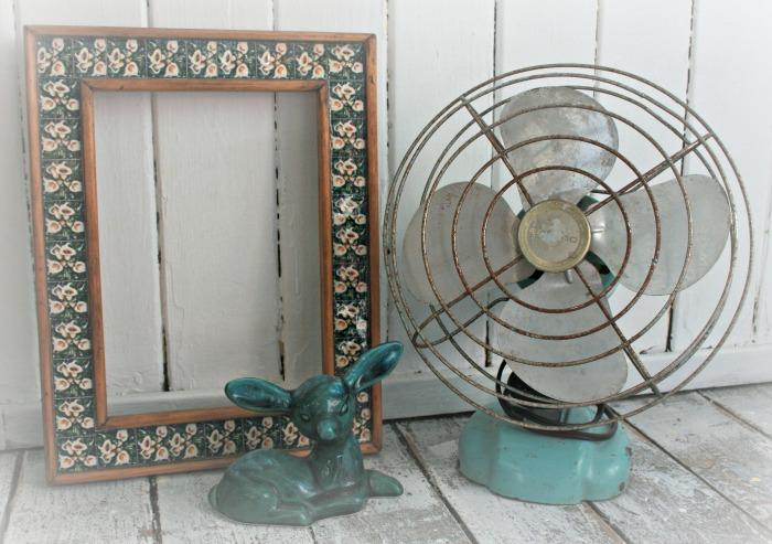 Fan, Frame, Fawn