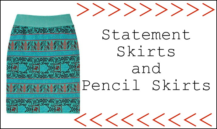 Spring 2012 Statement Skirts and Pencil Skirts