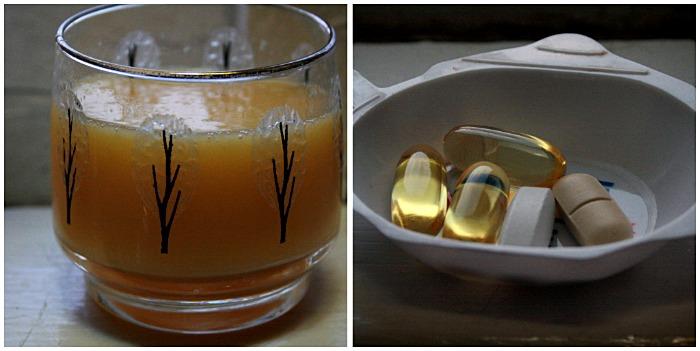 Orange Juice and Vitamins