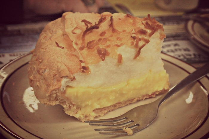Trip to WV Coconut Cream Pie