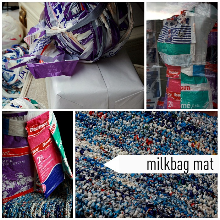 Milkbag Mat Collage
