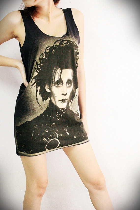 Edwar Scissorhands Long Tee