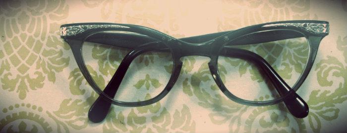 Cateye Glasses for Honesty