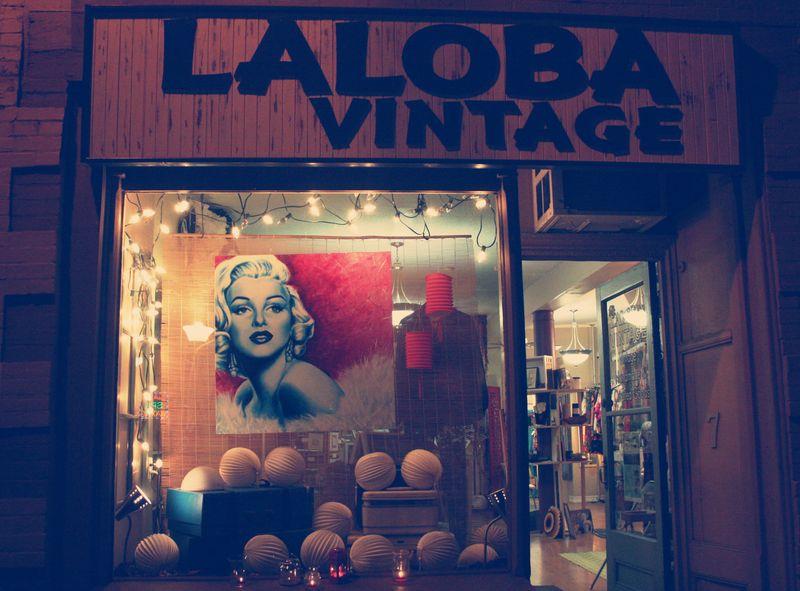 Art Meets Music Laloba Vintage Storefront
