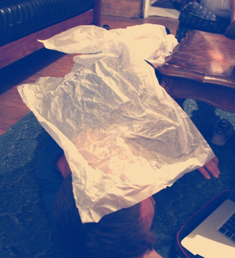 Ry in Tissue Paper
