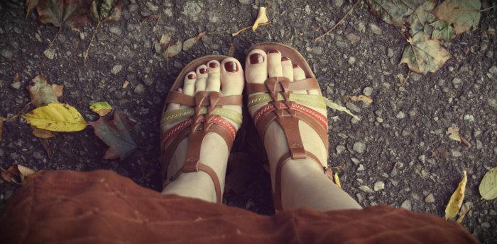 Vintage Sandal Wedges