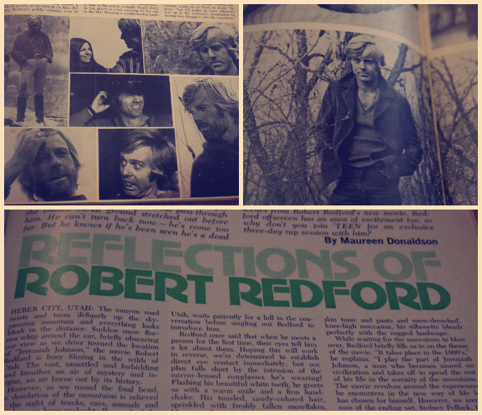 Vintage Robert Redford Collage