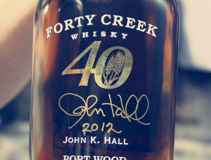 Forty Creek Tour Signed Bottle