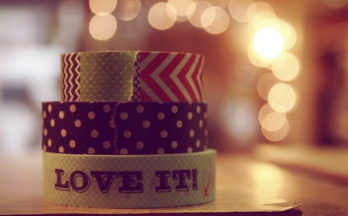 Stacked Washi Tape