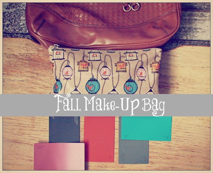 Fall Make-Up Bag True Becoming