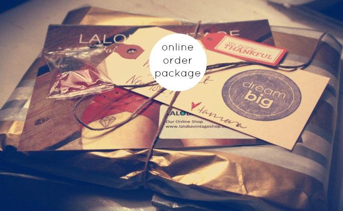 Laloba Vintage Online Order Package