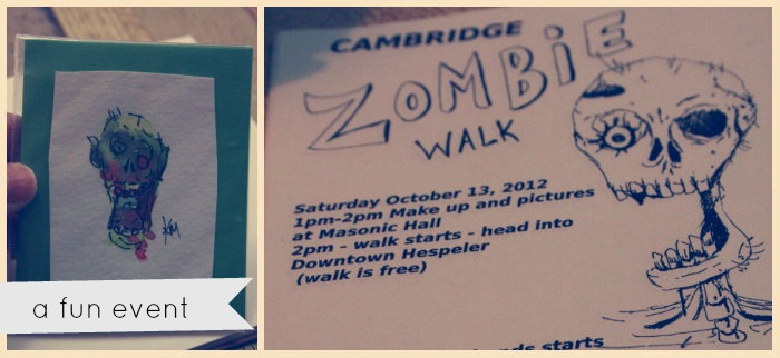 Zombie Walk Cambridge